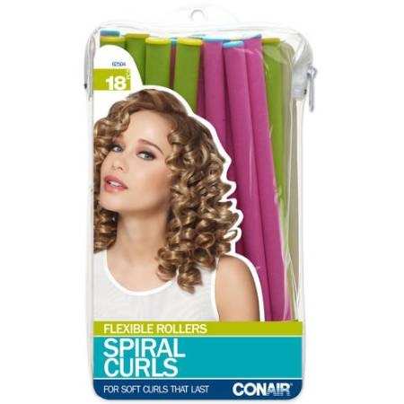 conair spiral curlers 18 count walmart