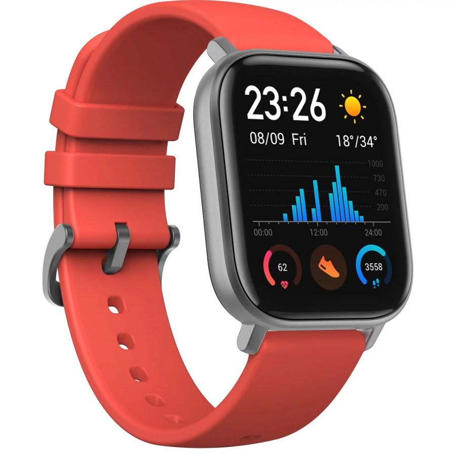 Amazfit GTS Smartwatch and Activity Tracker - Orange Vemillion