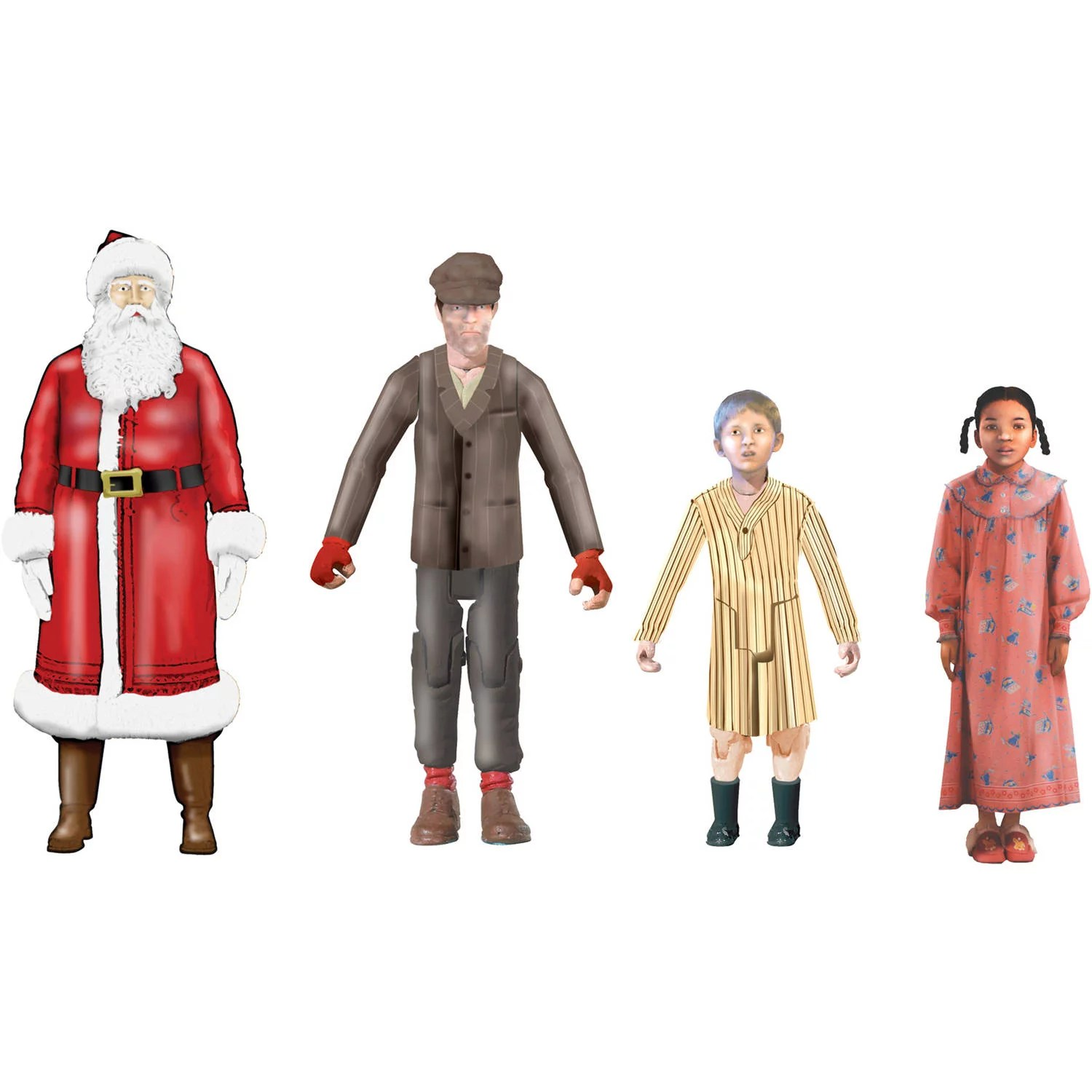 Lionel The Polar Express Character Add On Figures 4 Pack