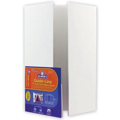 elmers guideline mini foam project display board 18 x 24