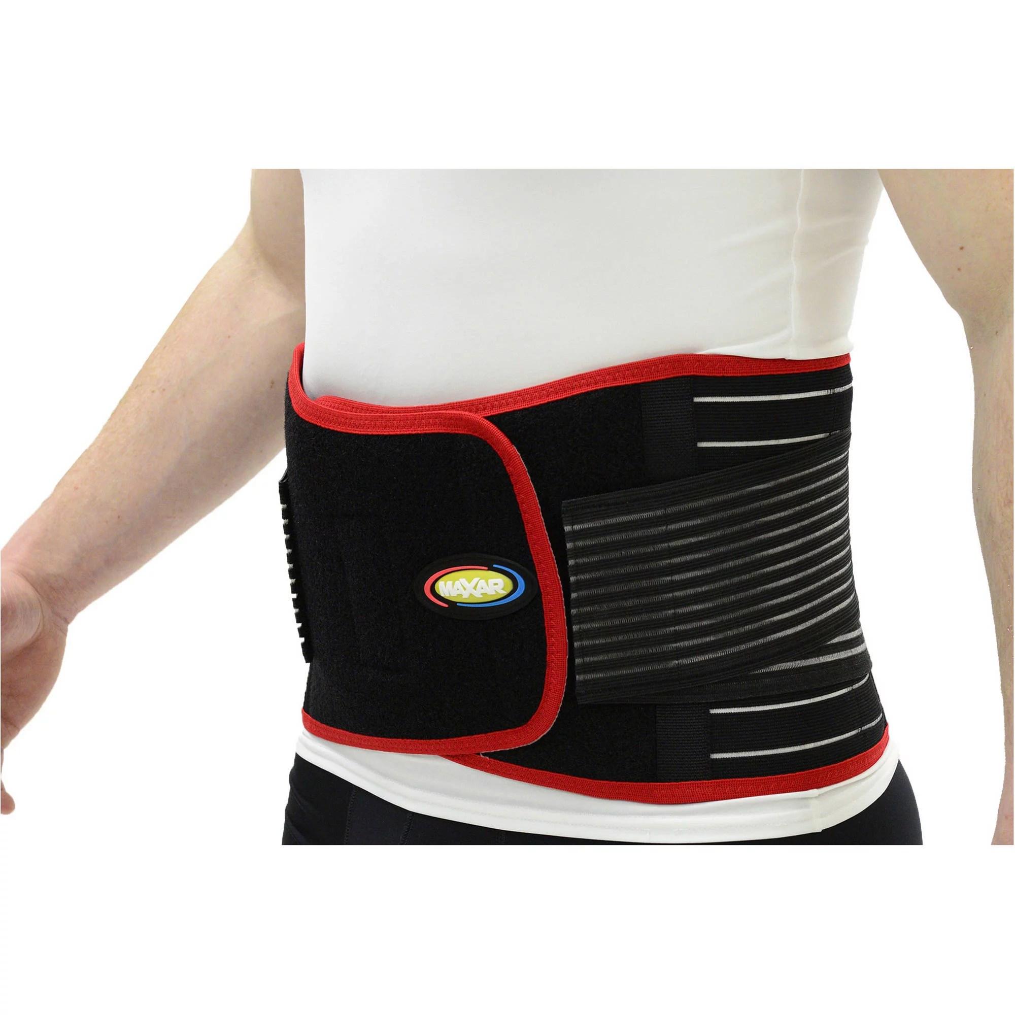 Maxar Bio Magnetic Back Support Belt Bms 512