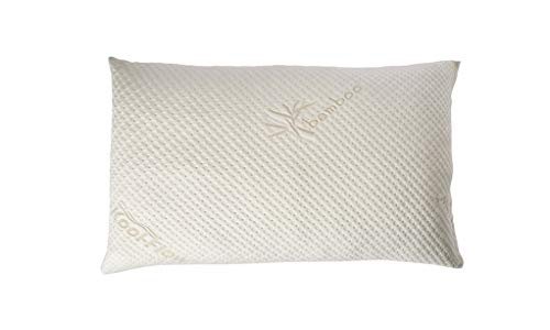 snuggle pedic toddler and kids pillow kool flow ultra luxury bamboo cover with shredded memory foam all u s a made fits