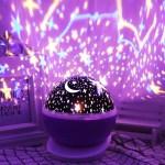 Star Projector Lamp Night Light 360 Degree Romantic Room Rotating Cosmos Star Projuctor Christmas Decorations Light Lamp Starry Moon Sky Night Projector Kid Bedroom Lamp Walmart Com Walmart Com