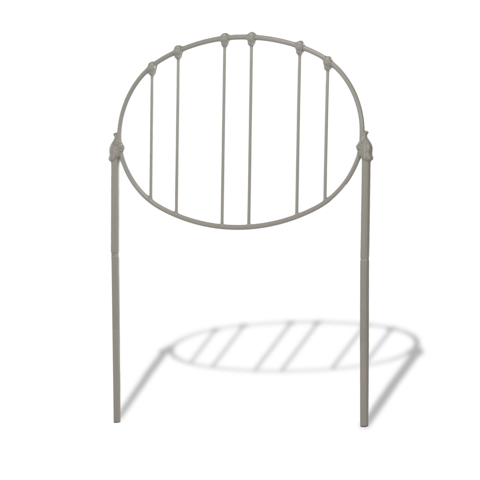 Emory Fashion Kids Metal Headboard With Oval Shape Spindle