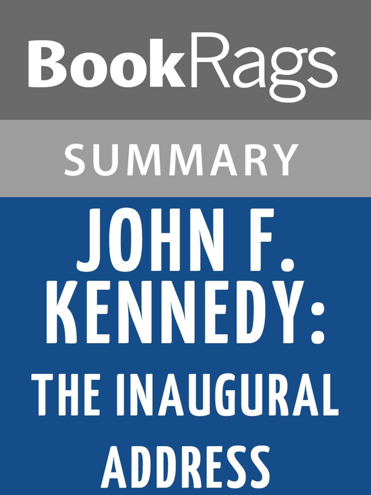 John F Kennedy S Inaugural Address By John F Kennedy L