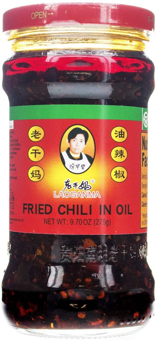 Lao Gan Ma Fried Chili Oil, 9.7 oz