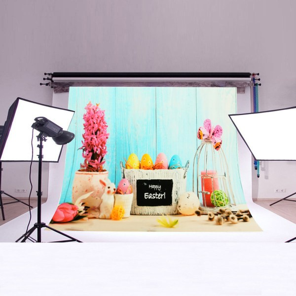 Moaere Happy Easter Eggs Photography Backdrops for Babies ...