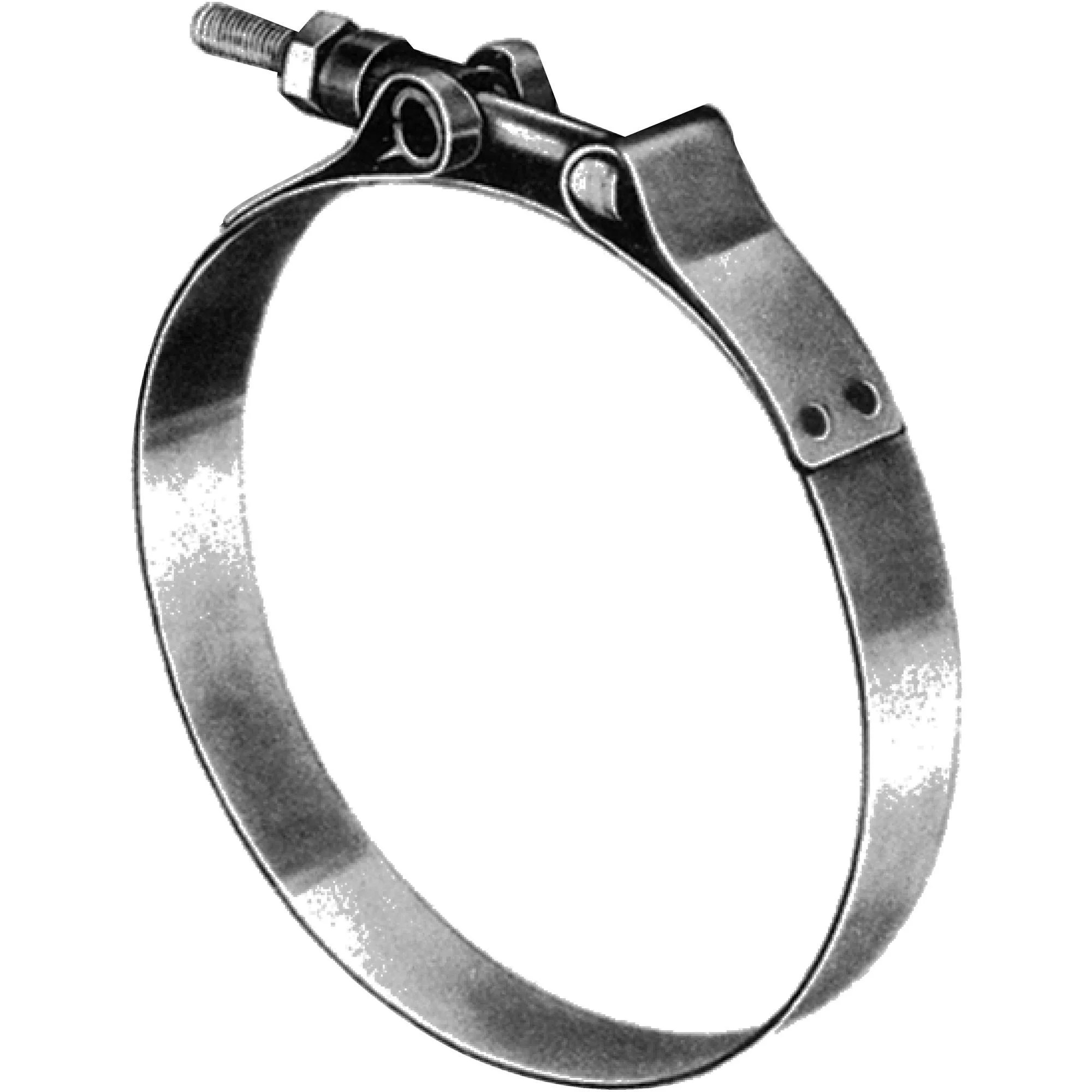 shields marine exhaust hose t bolt 3 4 band clamp