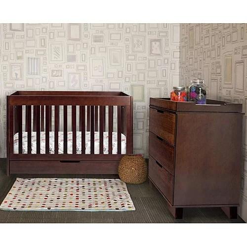 Baby Mod ParkLane 3 In 1 Convertible Crib Espresso