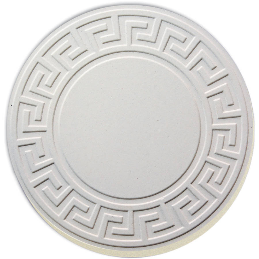 Conimar White Embossed Coaster - Walmart.com
