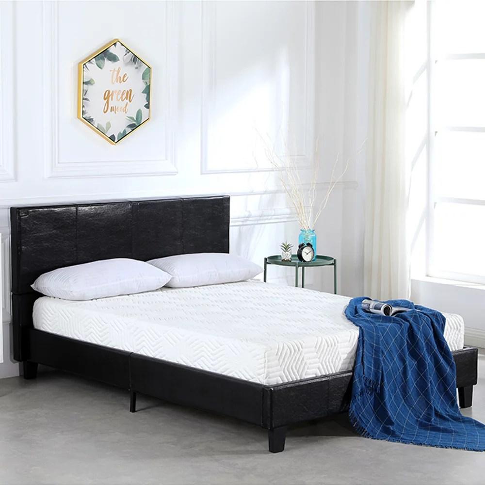 clearance full platform bed frame wooden full bed frame on walmart bedroom furniture clearance id=79765