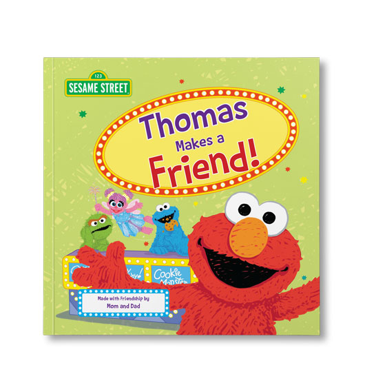 Sesame Street: Let's Make a Friend! – Personalized Book