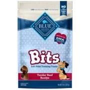 Blue Buffalo Bits Soft-Moist Savory Beef Recipe Training Dog Treats, 9-oz
