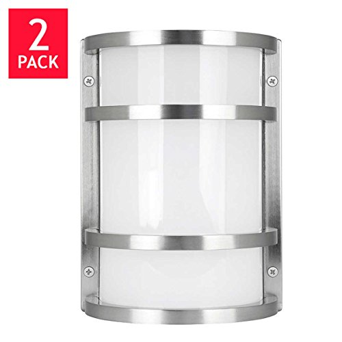 Feit Electric LED Wall Sconce Indoor/Outdoor (2 Pack ... on Electric Wall Sconces Indoor id=64270