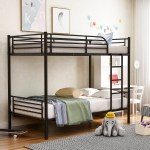 Euroco Twin Over Twin Metal Bunk Bed Multiple Colors Walmart Com Walmart Com