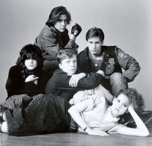 the breakfast club movie poster 11inx17in mini poster 11x17 poster