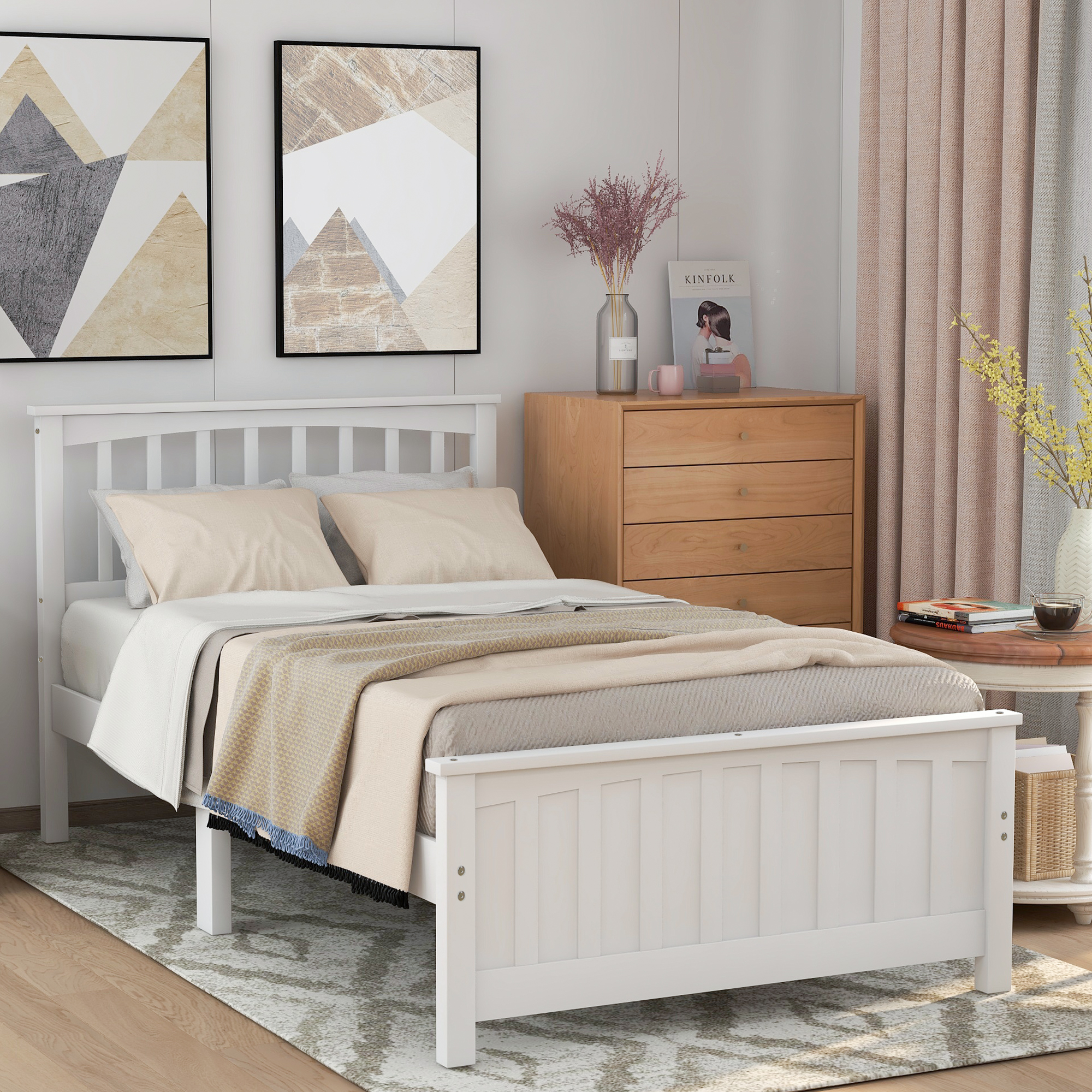 clearance twin bed frames for kids mordern platform bed on walmart bedroom furniture clearance id=84077
