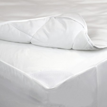 Allerease 2 In 1 Mattress Protector With Removable Plush Pad
