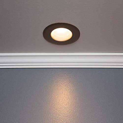 ge bronze baffle recessed light trim fits housing diameter 6 in