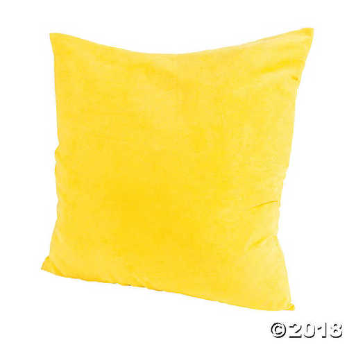 large yellow pillows online