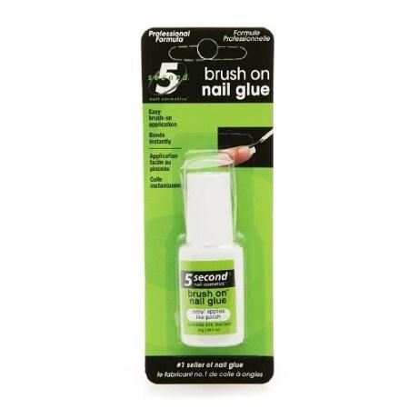 5 Second Nail Brush On Glue 0 2 Oz