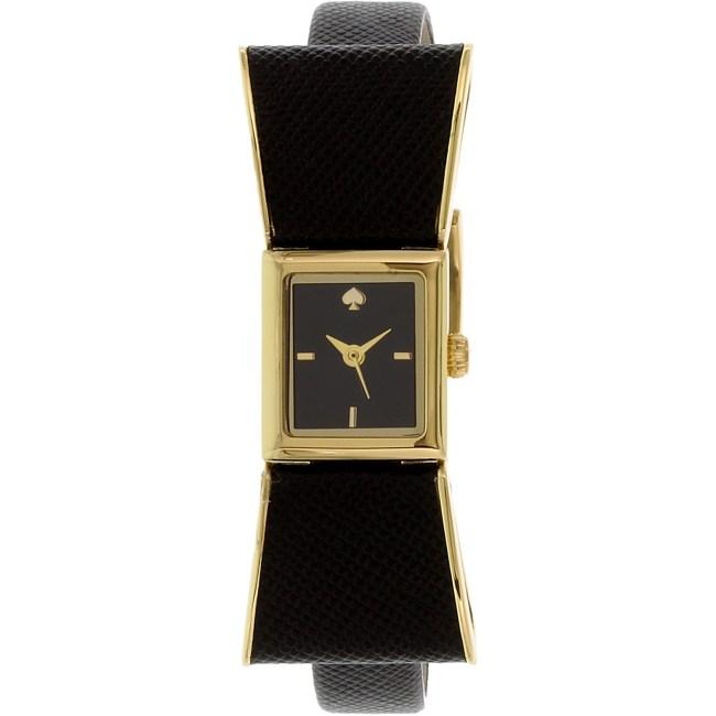 Kate Spade Women's Kenmare 1YRU0899 Black Leather Quartz Fashion Watch