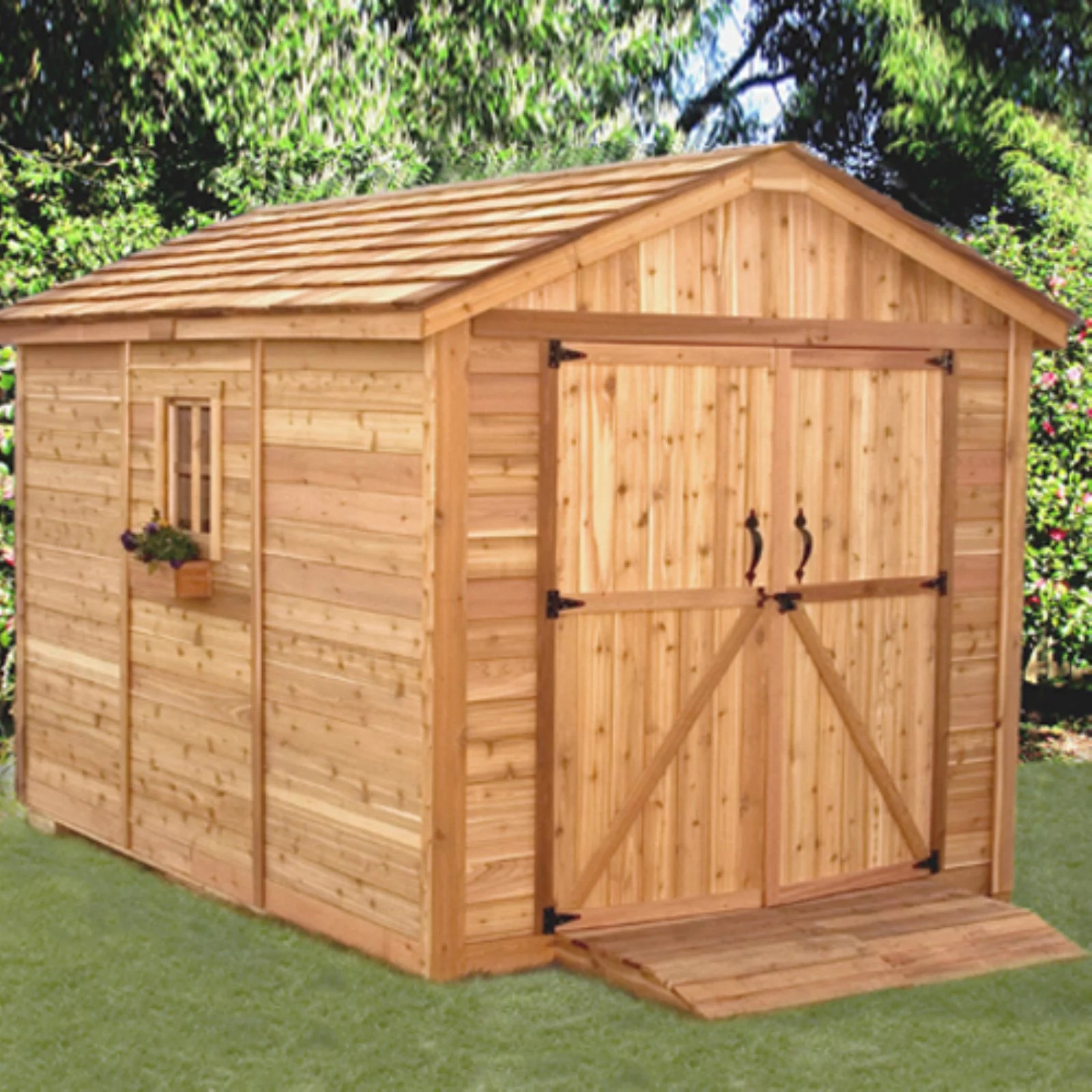 Outdoor Living Today SM812 SpaceMaker 8 x 12 ft. Storage ... on Cc Outdoor Living id=12280