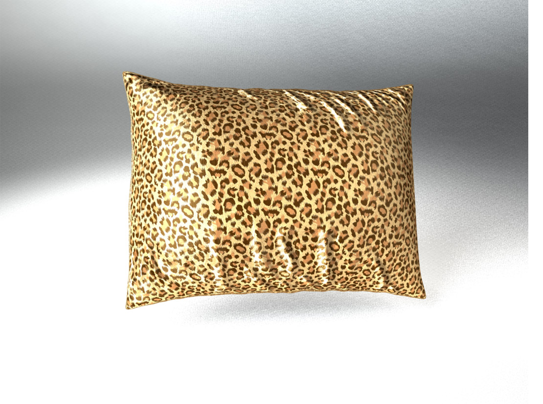 sweet dreams luxury euro satin pillowcase with zipper leopard print silky satin pillow case for hair by shop bedding