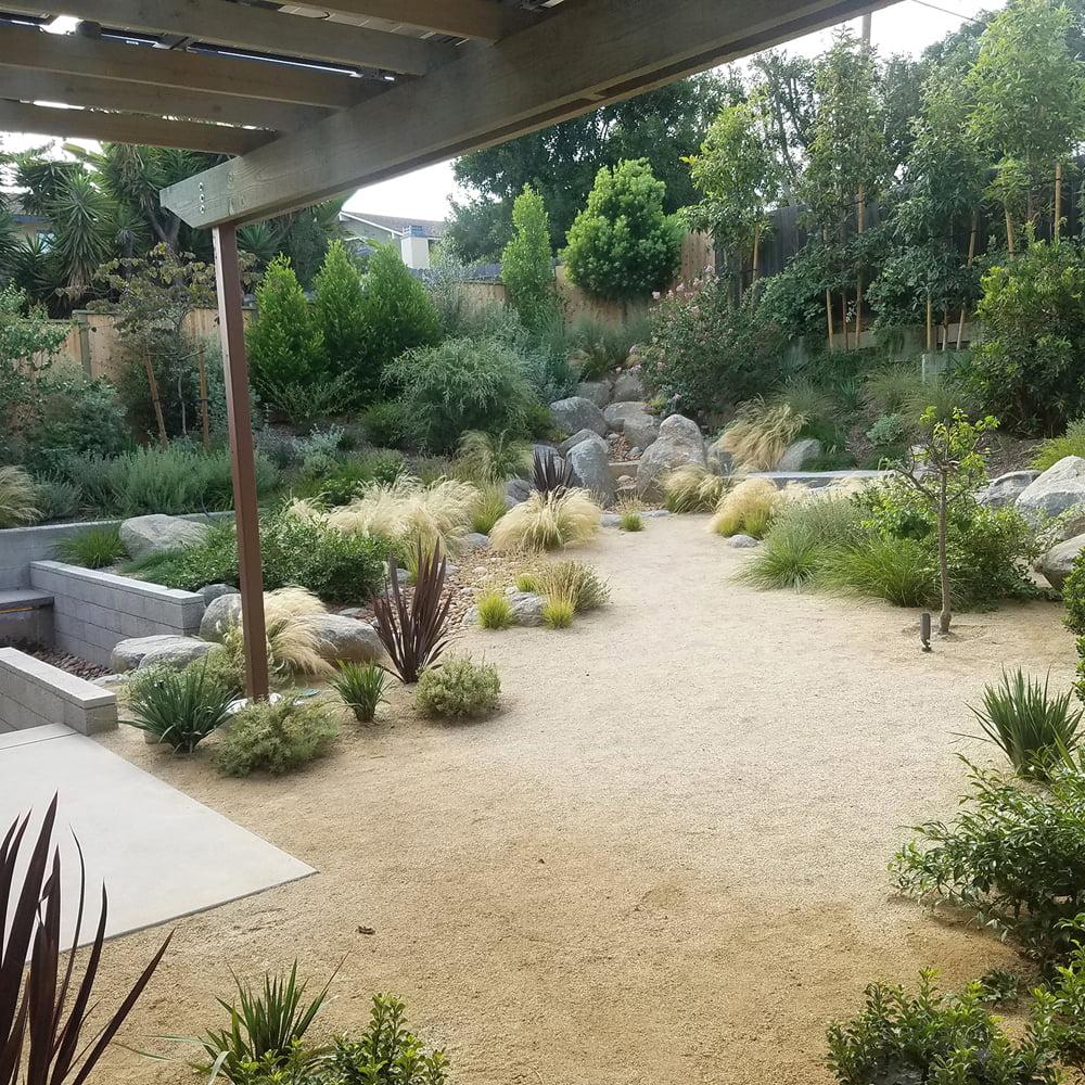 decomposed granite crushed gravel dg pathway fines for patio landscape