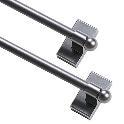 magnetic curtain rod multi use