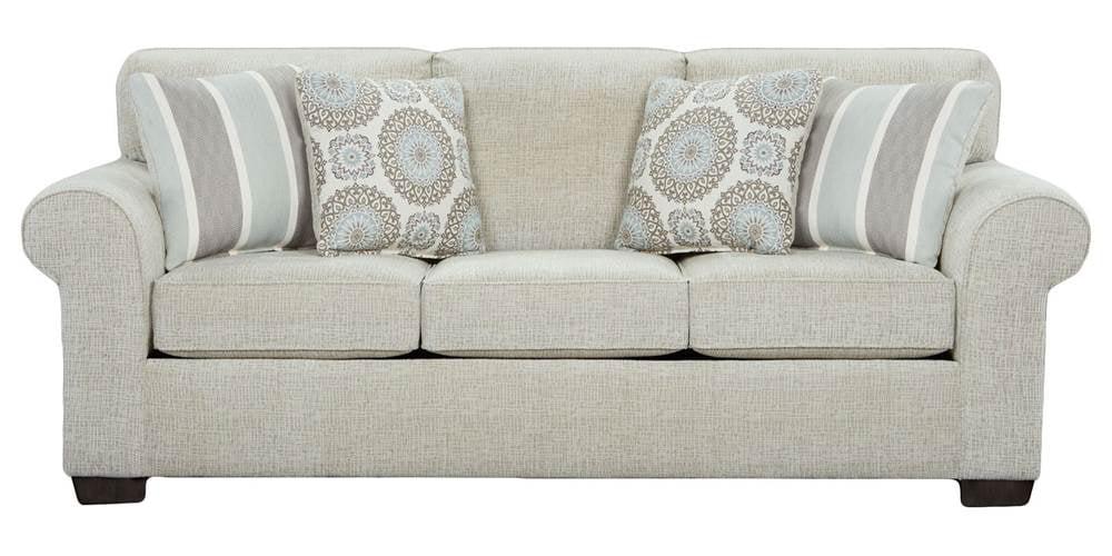 queen sleeper sofa in charisma linen