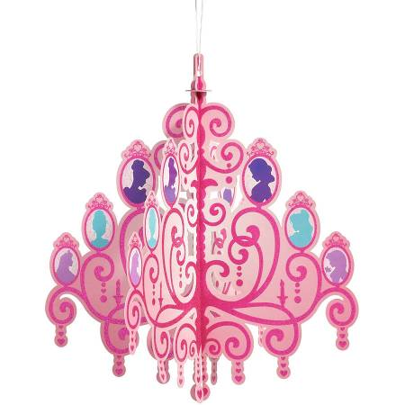 Disney Princess Hanging Chandelier Party Decoration Supplies