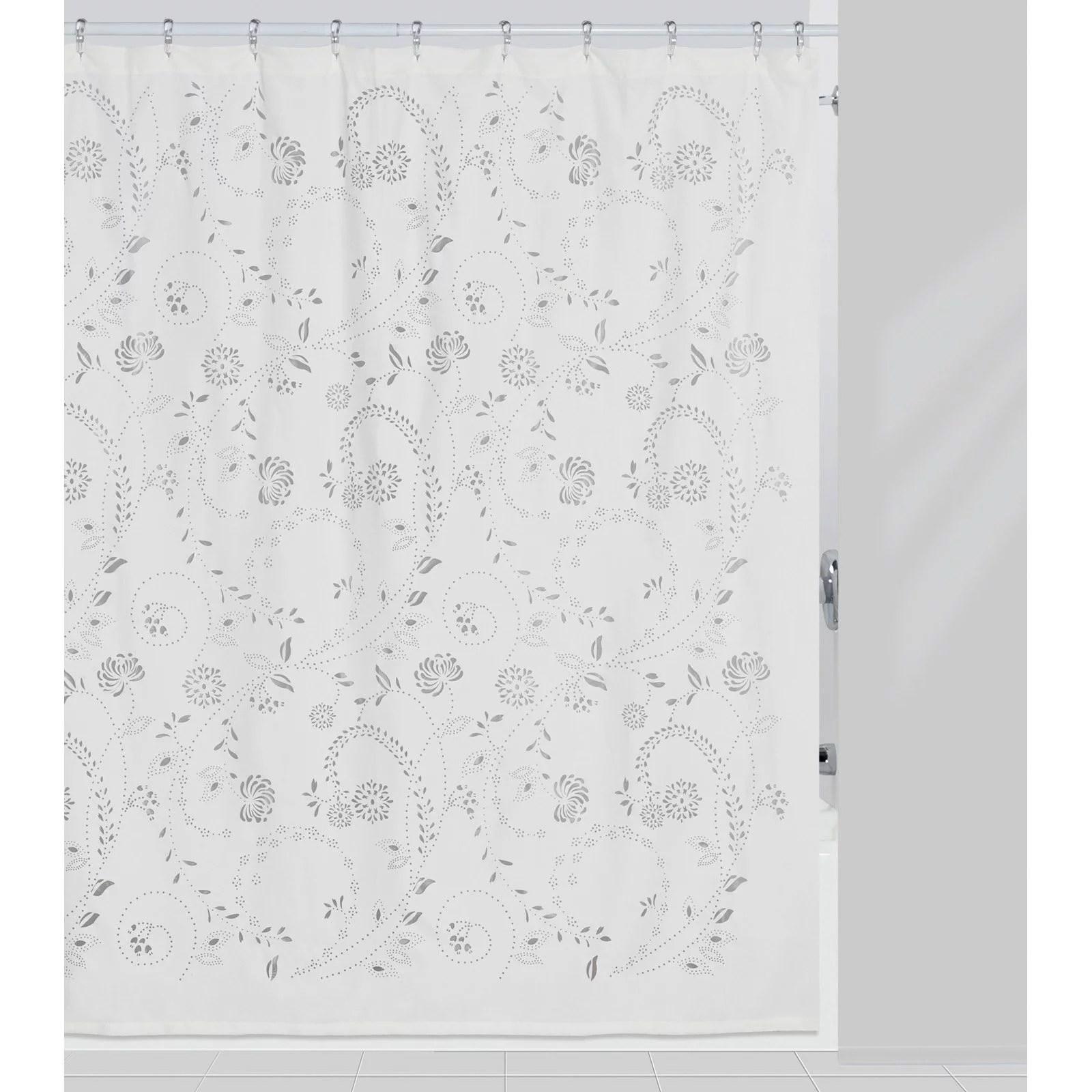 eyelet shower curtain by creative bath products walmart com