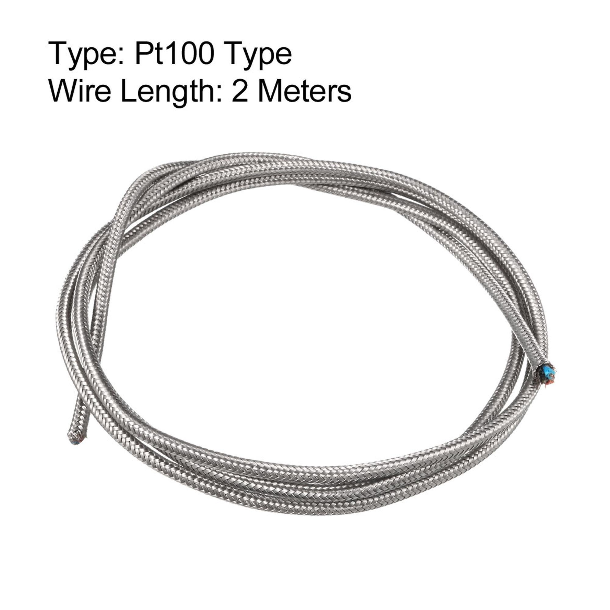 Pt100 Thermocouple Wire High Temperature 3 Cores Extension