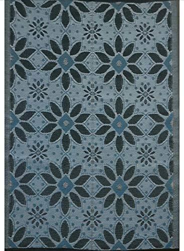 5 x7 indoor outdoor plastic straw rug rv mat patio camping reversible rug 20287