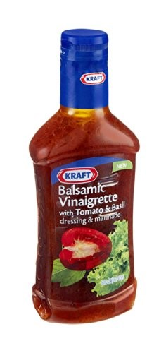 Kraft Balsamic Tomato Basil Salad Dressing 16 Oz
