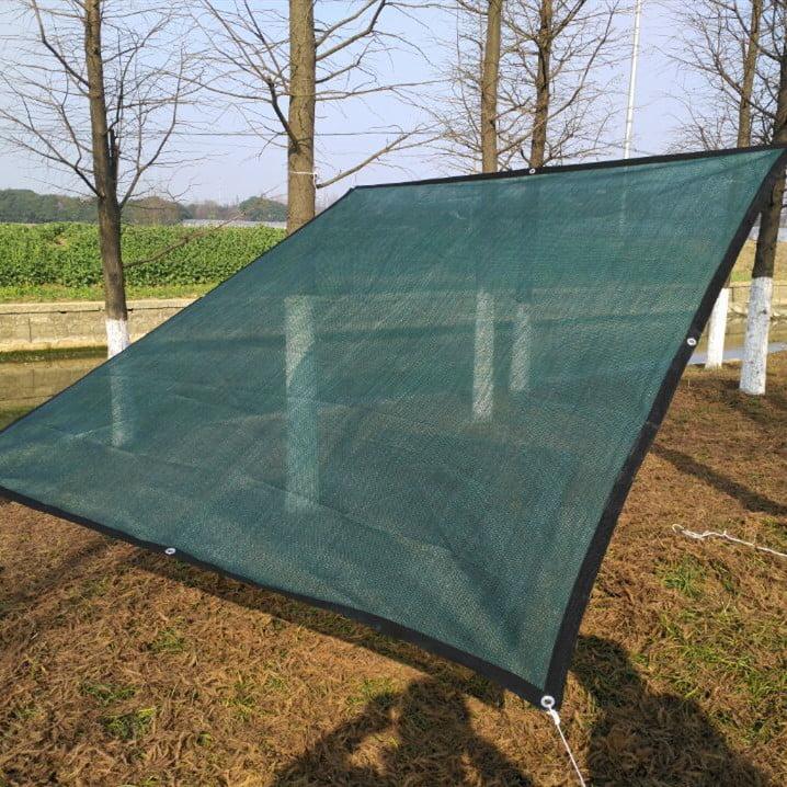 100g pe sun shade sail garden patio sunscreen awning canopy screen 90 uv block