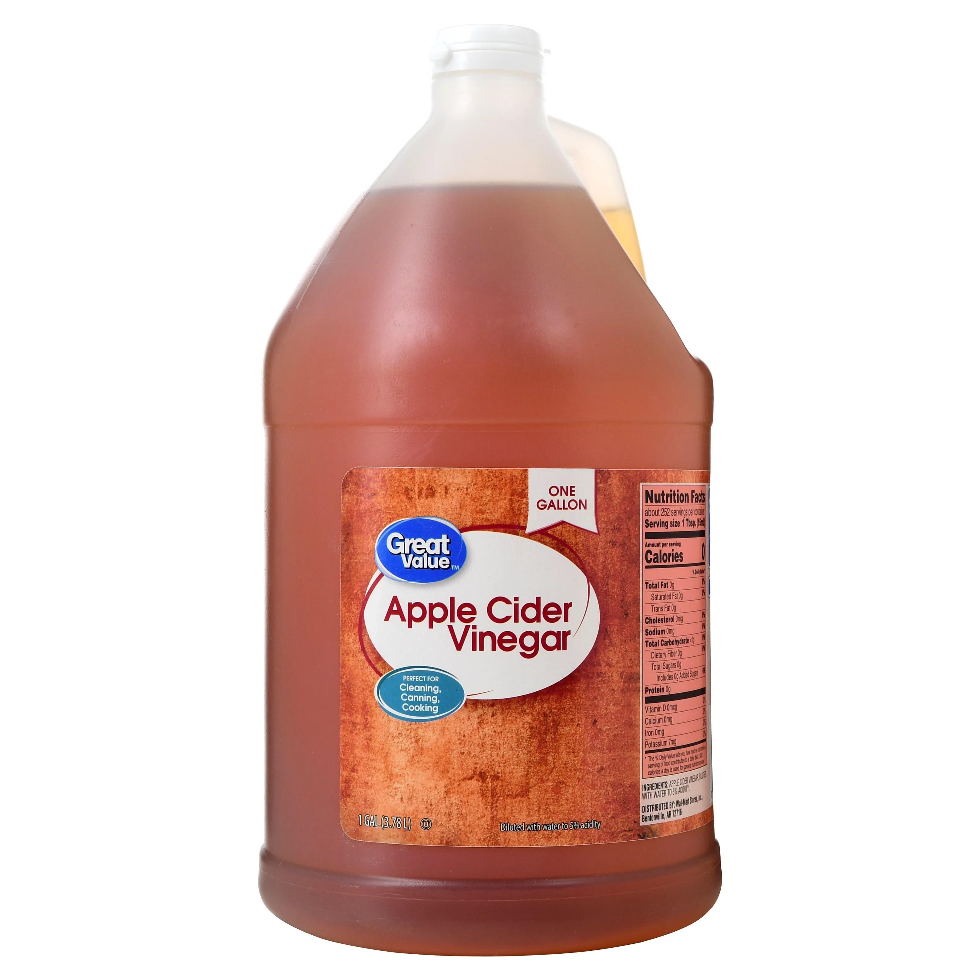 Great Value Apple Cider Vinegar, 1 gal - Walmart.com