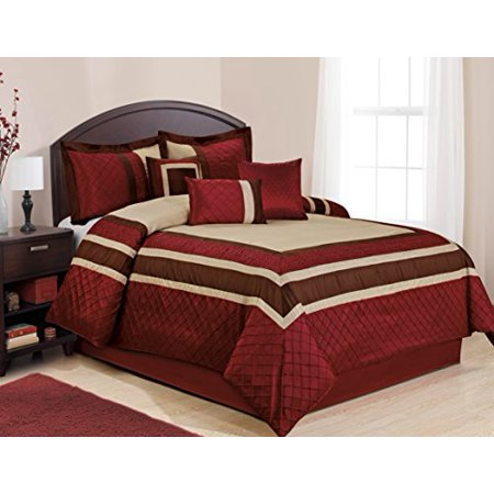 7 piece mya red bed in a bag clearance bedding comforter on walmart bedroom furniture clearance id=89400