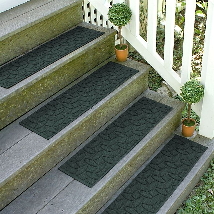 Weather Guard Ellipse 8 5 Inch X 30 Inch Stair Treads In Evergreen | Walmart Outdoor Stair Treads | Colonial Mills | Walmart Com | Terra Cotta | Non Slip Stair | Indoor Outdoor