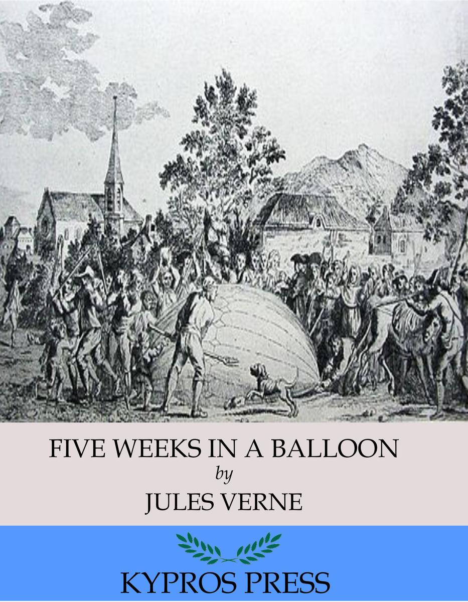 Five Weeks in a Balloon – eBook