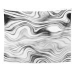 Ufaezu Brown Black Marble Optimal Floor Stone And Interior Gray White Abstract Wall Art Hanging Tapestry Home Decor For Living Room Bedroom Dorm 60x80 Inch Walmart Com Walmart Com