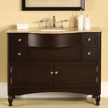 silkroad exclusive addison 45'' single bathroom vanity set