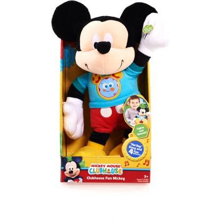 """Disney Clubhouse Fun Talking 11"""" Plush Mickey"""