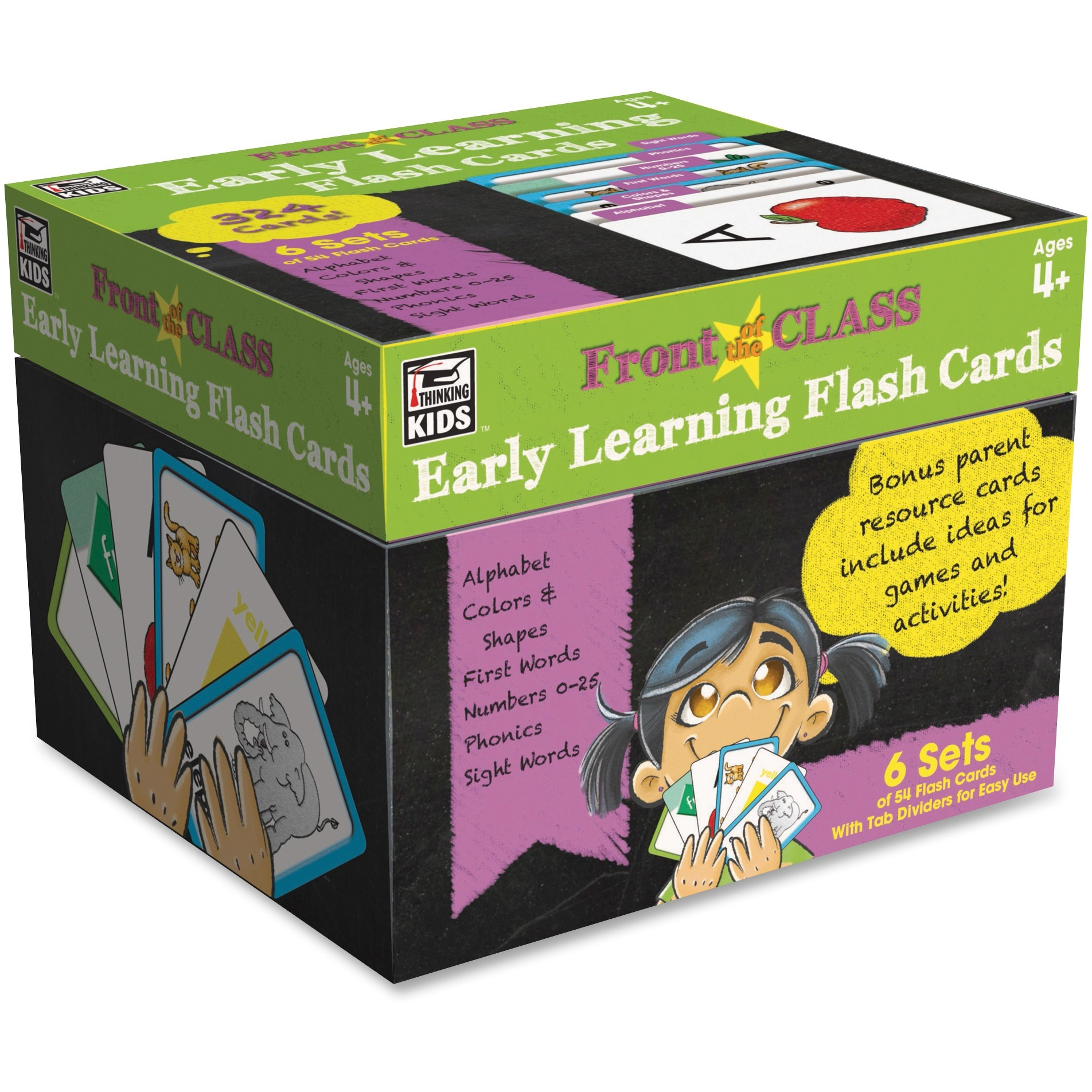 Carson Dellosa Cdp Early Learning Flash Cards 1