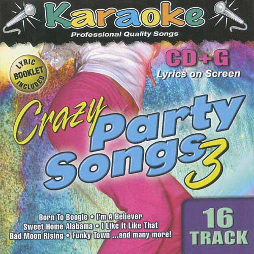 Big wheels keep on turnin'. Karaoke Bay Crazy Party Songs Vol 3 Walmart Com Walmart Com
