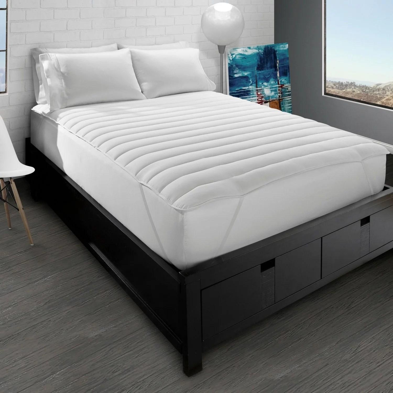 big soft pillow top mattress pad queen walmart com