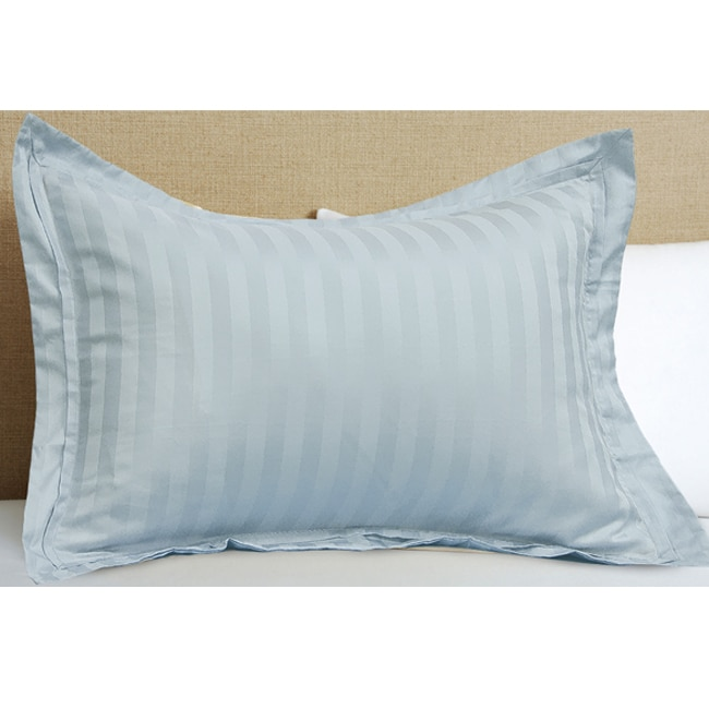 hotel grand egyptian cotton 500 thread count pillow sham set of 2