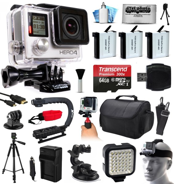 GoPro HERO Session Waterproof HD Action Camera   Walmart com