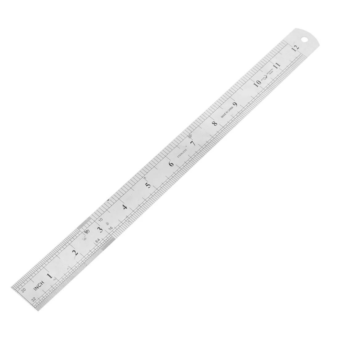 Office 30cm 12 Inch Measuring Range Straight Ruler